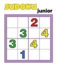 Game 96, sudoku 13 Stock Photography