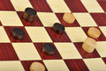 The game of checkers Royalty Free Stock Image