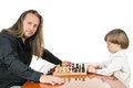 Game of chess Royalty Free Stock Image