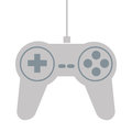 Game controller icon flat design of illustration Stock Images