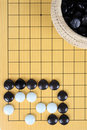 The game of go Royalty Free Stock Image