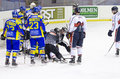 Game HC Milan - HC Fassa ( Italian Premier  League Royalty Free Stock Photography