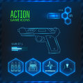 Game icon weapon