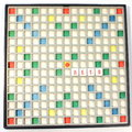 Game scrabble theme of summer vacation dream of summer Stock Photography