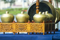 Gamelan Musical Instruments Stock Images