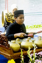 Gamelan Player Stock Photo