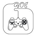 Gamepad - game console controller