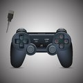 Gamepad Joystick. Joystick game console. Realistic image. Royalty Free Stock Photo