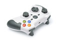 Gamepad new wireless isolated on white Royalty Free Stock Photos
