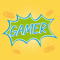 Gamer Royalty Free Stock Photo