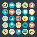 Gaming Colored Vector Icons 4