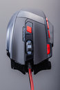 Gaming mouse top Royalty Free Stock Photo