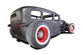 Gamla rusty rat rod Royaltyfri Foto