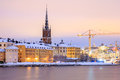 Gamla stan old town stockholm Images stock
