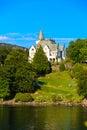 Gamlehaugen mansion on July 22, 2014 in Bergen, Norway. Royalty Free Stock Photo