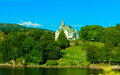 Gamlehaugen mansion on July 22, 2014 in Bergen, Norway. Royalty Free Stock Photo