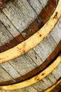 Gammalt trä för trumma Royaltyfria Bilder