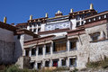 Ganden Monastery in Tibet Royalty Free Stock Images