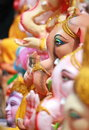 Ganesh chaturthi festival in hyderabad, India Royalty Free Stock Image