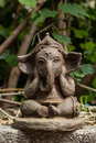 Ganesh lord of success and destroyer Stock Photography