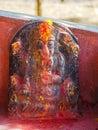 Ganesha Hindu deities shrine at Kali Temple, in Dhulikhel, Nepal Royalty Free Stock Photo