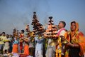 Ganga dussehra festival celebration in Allahabad