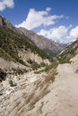 Ganga River Valley bhagirathi Стоковые Фото