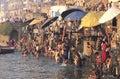 The Ganges In Varanasi Royalty Free Stock Photo