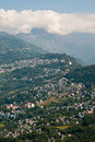 Gangtok city view Stock Images