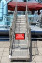 Gangway Royalty Free Stock Photo