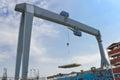 Gantry crane Stock Photography