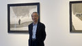 Gao xingjian first chinese nobel laureate at the opening of the edge of reality exhibition in taipei s asia art center taipei ii Royalty Free Stock Photos