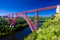 Garabit Viaduct Royalty Free Stock Photo