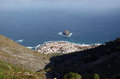 Garachico view from above tenerife Royalty Free Stock Images
