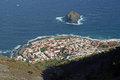 Garachico view from above tenerife Royalty Free Stock Image