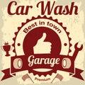 Garage and car wash