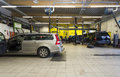 Garage Mechanics Royalty Free Stock Photo
