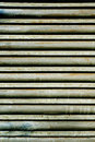 Garage roller door Royalty Free Stock Images