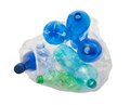 Garbage bag with plastic bottles Stock Photography