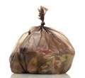 Garbage Bags With Food Waste I...