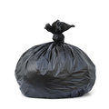 Garbage bags isolated on white background Royalty Free Stock Image