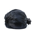 Garbage bags isolated on white background Royalty Free Stock Photos