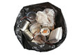 Garbage bags put many more Stock Photography
