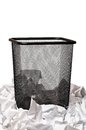 Garbage bin Royalty Free Stock Images