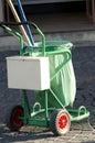 Garbage cart Royalty Free Stock Image
