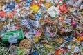 Garbage dump background Royalty Free Stock Photo