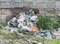 Garbage heap Royalty Free Stock Photo