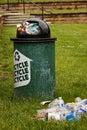 Odpadky další na popelnice