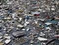 Garbage puddle Royalty Free Stock Photo