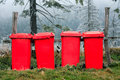 Garbage recipients Royalty Free Stock Images